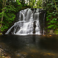 Chase River Falls in Nanaimo, British Columbia, Canada