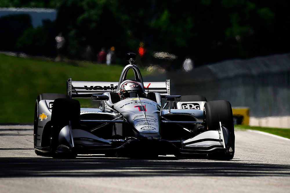 Josef Newgarden, Team Penske Chevrolet<br /> Saturday 23 June 2018<br /> KOHLER Grand Prix at Road America<br /> Verizon IndyCar Series<br /> Road America WI USA<br /> World Copyright: Scott R LePage