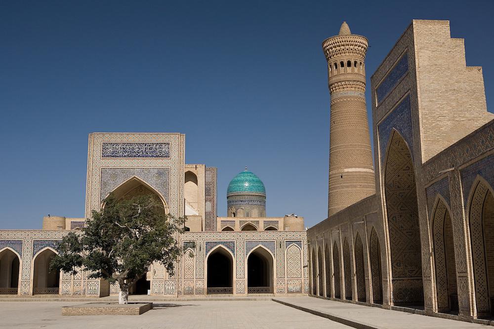 Courtyard of Kalon Medrassa, Bukhara