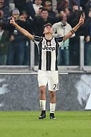 10.03.2017 - Torino - Serie A 2016/17 - 28a giornata  -  Juventus-Milan nella  foto: Paulo Dybala esulta dopo il gol del 2 a 1