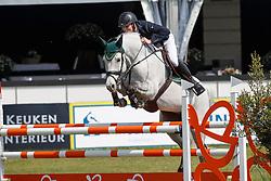 Van Grunsven Jens,NED, La Calido<br /> Young Riders<br /> Nederlands Kampioenschap Jumping - Mierlo 2017<br /> © Hippo Foto - Dirk Caremans<br /> 20/04/2017