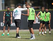 LA: Real Madrid Training - 15 July 2017