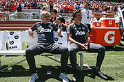 Manchester United Manager Jose Mourinho during the AON Tour 2017 match between Real Madrid and Manchester United at the Levi's Stadium, Santa Clara, USA on 23 July 2017.