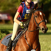 Michelle Mercier and Prufrock at the 2007 Wellpride American Eventing Championships in Wayne, IL, USA.