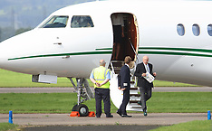 Celtic Directors arrive for Old Firm derby game | Glasgow | 10 September 2016