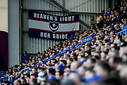 Portsmouth fans during the EFL Sky Bet League 1 match between Portsmouth and Sunderland at Fratton Park, Portsmouth, England on 22 December 2018.