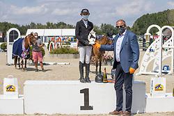 Tijskens Laure, BEL, Navayo<br /> Belgisch Kampioenschap Jeugd Azelhof - Lier 2020<br /> © Hippo Foto - Dirk Caremans<br />  02/08/2020