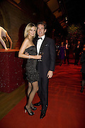 MALIN JOHNANSSON AND TIM JEFFERIES, Cartier Dinner to celebrate the re-opening of the Cartier U.K. flagship store, New Bond St. Natural History Museum. 17 October 2007. -DO NOT ARCHIVE-© Copyright Photograph by Dafydd Jones. 248 Clapham Rd. London SW9 0PZ. Tel 0207 820 0771. www.dafjones.com.