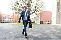 14 NOV 2018, POTSDAM/GERMANY:<br /> Gerd Mueller, MdB, CSU, Bundesminister fuer wirtschaftliche Zusammenarbeit und Entwicklung, auf dem Weg zur Klausurtagung des Bundeskabinetts, Hasso Plattner Institut (HPI), Potsdam-Babelsberg<br /> IMAGE: 20181114-01-011<br /> KEYWORDS; Kabinett, Klausur, Tagung, Gerd Müller