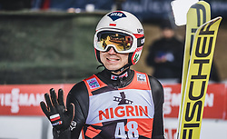12.01.2019, Stadio del Salto, Predazzo, ITA, FIS Weltcup Skisprung, Val di Fiemme, Herren, 2. Wertungsdurchgang, im Bild Kamil Stoch (POL) // Kamil Stoch of Poland reacts after his 2nd Competition Jump for the Four Hills Tournament of FIS Ski Jumping World Cup at the Stadio del Salto in Predazzo, Itali on 2019/01/12. EXPA Pictures © 2019, PhotoCredit: EXPA/ JFK