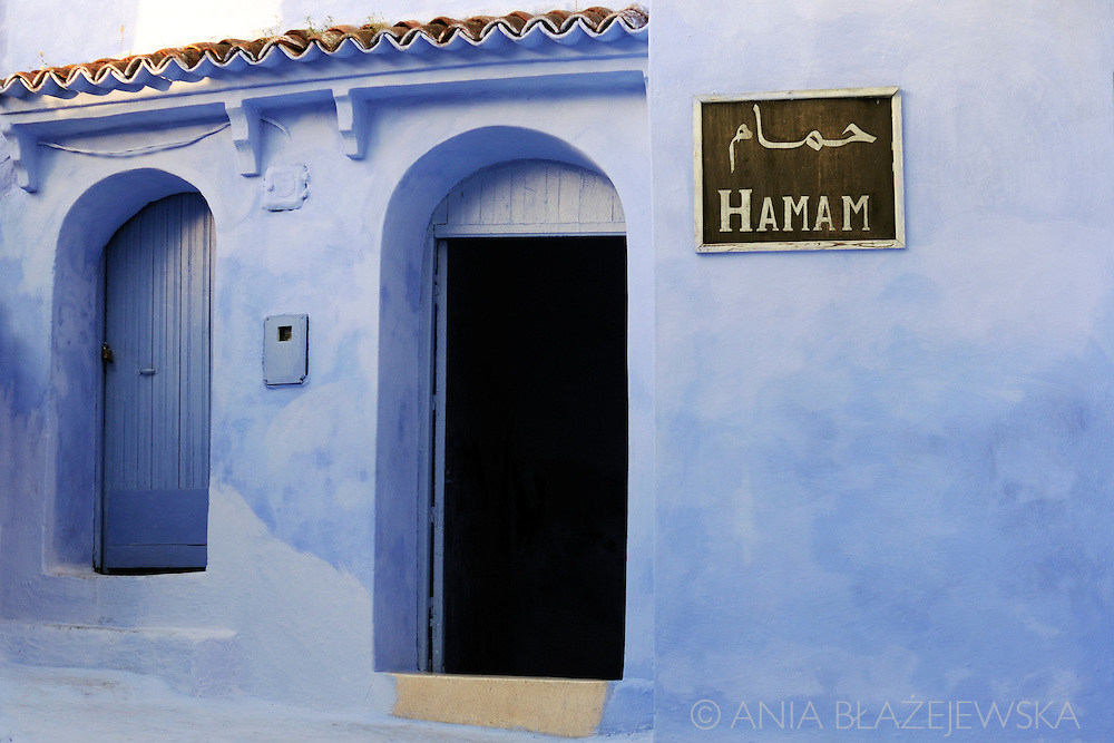 Morocco. Hamam in Chefchaouen.