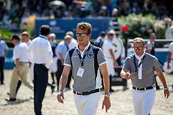 SMOLDERS Harrie (NED)<br /> Berlin - Global Jumping Berlin 2018<br /> Parcoursbesichtigung<br /> 2. Wertung für Global Champions League<br /> 28. Juli 2018<br /> © www.sportfotos-lafrentz.de/Stefan Lafrentz