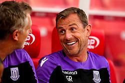 Stoke City manager Gary Rowett - Mandatory by-line: Robbie Stephenson/JMP - 25/07/2018 - FOOTBALL - Bet365 Stadium - Stoke-on-Trent, England - Stoke City v Wolverhampton Wanderers - Pre-season friendly