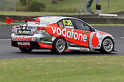 Craig Lowndes(Team Vodafone). Official Test Day of the 2011 V8 Supercar Championship Series. Eastern Creek International Raceway on Saturday 29 January 2011. Photo © Clay Cross / PHOTOSPORT