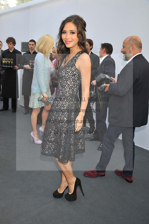 MYLENE KLASS at the Glamour Women of the Year Awards 2012 in association with Pandora held in Berkeley Square Gardens, London W1 on 29th May 2012.