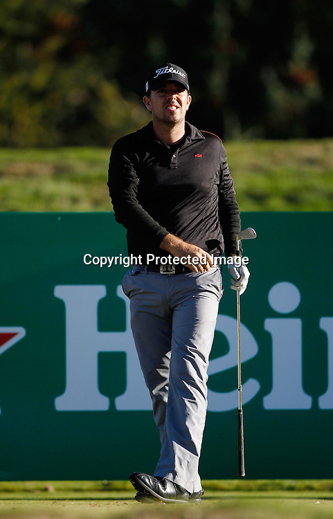 Tim Wood of Australia during round one of the New Zealand PGA championships at The Hills, Arrowtown, New Zealand. Thursday, 29 March 2012. Photo: Michael Thomas/ photosport.co.nz