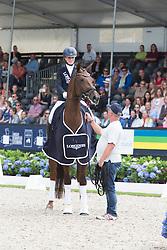 Buchwald Beatrice, GER, Victoria's Secret<br /> World Championship Young Dressage Horses <br /> Ermelo 2016<br /> © Hippo Foto - Leanjo De Koster<br /> 30/07/16