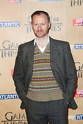 © Licensed to London News Pictures. 18/03/2015, UK. Ian Mark Gattis (Tycho Nestoris), Game of Thrones - Series Five World Premiere, Tower of London, London UK, 18 March 2015. Photo credit : Richard Goldschmidt/Piqtured/LNP