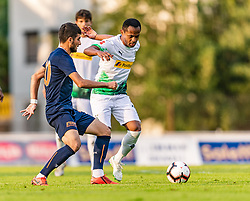 17.07.2019, Kufstein Arena, Kufstein, AUT, Testspiel, Borussia Moenchengladbach vs Istanbul Basaksehir FC, im Bild v.l. Soner Aydogdu (Istanbul Basaksehir FK), Raffael (Borussia Mönchengladbach) // during a test match for the upcoming Season between Borussia Moenchengladbach and Istanbul Basaksehir FK at the Kufstein Arena in Kufstein, Austria on 2019/07/17. EXPA Pictures © 2019, PhotoCredit: EXPA/ Stefan Adelsberger