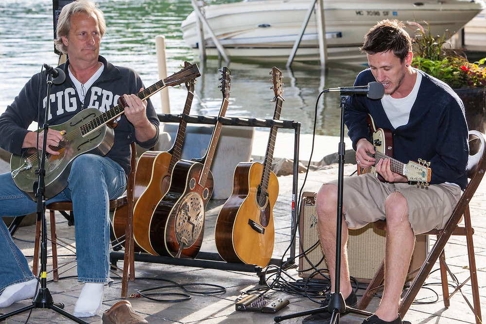 Jeff & Ben Daniels perform together for Purple Rose Theatre Fundraiser