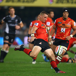 DURBAN, SOUTH AFRICA - JULY 15: Riaan Viljoen of the Sunwolves during the Super Rugby match between the Cell C Sharks and Sunwolves at Growthpoint Kings Park on July 15, 2016 in Durban, South Africa. (Photo by Steve Haag/Gallo Images)