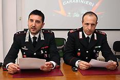 20130504 CONFERENZA STAMPA CARABINIERI FURTO MCDONALD