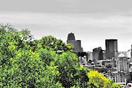 Unique view of Cincinnati, Ohio