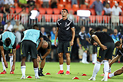 Cristiano Ronaldo of Juventus FC warms up ahead of the UEFA Champions League, Group H football match between Valencia CF and Juventus FC on September 19, 2018 at Mestalla stadium in Valencia, Spain - Photo Manuel Blondeau / AOP Press / ProSportsImages / DPPI