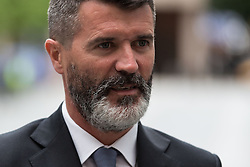 © Licensed to London News Pictures. 19/06/2015. Manchester , UK . ROY KEANE arrives at Manchester Magistrates' Court . The former Manchester United and Republic of Ireland footballer is accused of a public order offence - namely causing alarm, harassment or distress - in relation to an incident with taxi driver Fateh Kerar . Photo credit: Joel Goodman/LNP