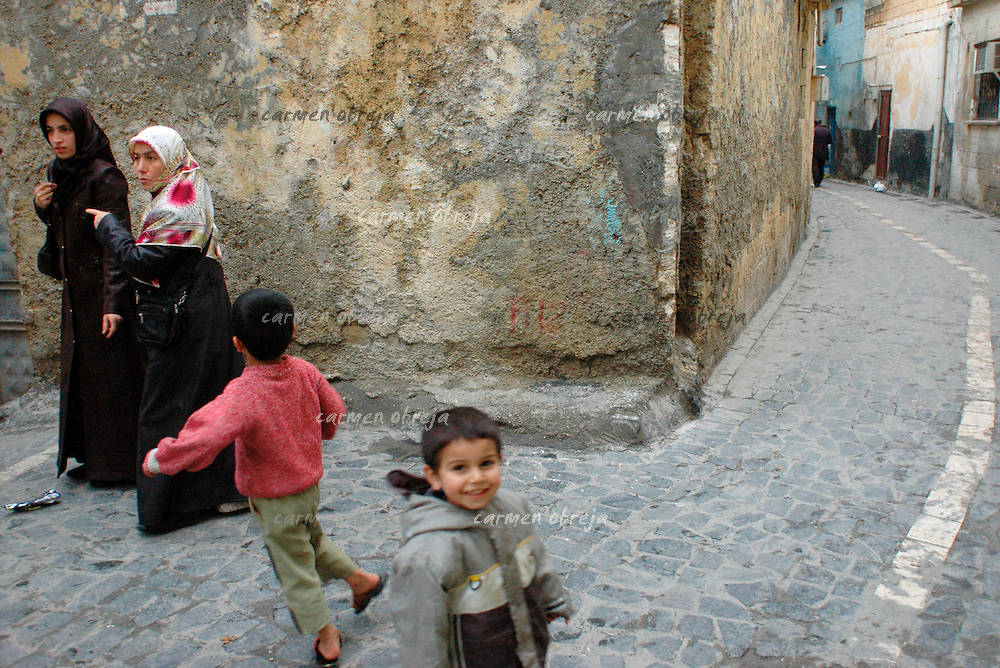 street scene in old town of Sanliurfa