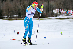 KOVALEVSKYI Anatolii Guide: MUKSHYN Oleksandr, UKR at the 2014 IPC Nordic Skiing World Cup Finals - Middle Distance