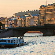 White Nights, the long summer nights when daylight lasts 24 hours in Saint Petersburg, Санкт-Петербург, is the second largest city in Russia, located on the Neva River near the Baltic Sea.<br /> Photography by Jose More
