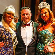 RUS/Minsk/20150829 - Mrs. Universe verkiezing 2015, Sophia de Boer partner Erik Kaa en Mrs. Universe 2014 - Sabrina Pinion