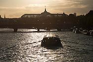 France. Paris. Seine river and bridges.