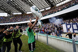 October 29, 2017 - Napoli, Napoli, Italy - Naples - Italy 29/10/2017.PAOLO CANNAVARO  of SASSUOLO  during Serie A  match between S.S.C. NAPOLI and Sassuolo  at Stadio San Paolo of Naples. (Credit Image: © Emanuele Sessa/Pacific Press via ZUMA Wire)
