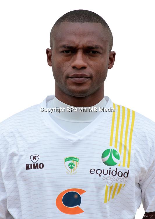 Colombia League - Postobom Liga 2014-2015 - <br /> Club Deportivo La Equidad - Colombia / <br /> Wilmer Diaz