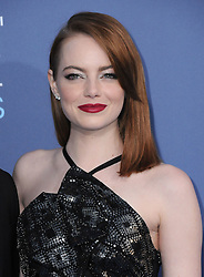 Emma Stone  bei der Verleihung der 22. Critics' Choice Awards in Los Angeles / 111216