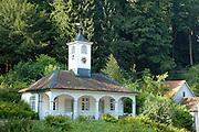 Naturpark Bergstraße-Odenwald..Staatspark Fürstenlager bei Bensheim..Pavillon