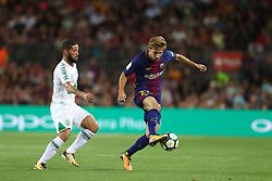 August 7, 2017 - Barcelona, Spain - Sergi Samper of FC Barcelona during the 2017 Joan Gamper Trophy football match between FC Barcelona and Chapecoense on August 7, 2017 at Camp Nou stadium in Barcelona, Spain. (Credit Image: © Manuel Blondeau via ZUMA Wire)