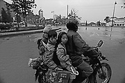 Vietnam, Sapa: children going to school...Vietnam, Sapa: children going to school...