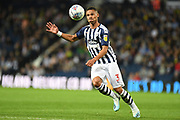 West Bromwich Albion defender Kieran Gibbs (3) concentrates on the ball as he looks to cross during the EFL Sky Bet Championship match between West Bromwich Albion and Reading at The Hawthorns, West Bromwich, England on 21 August 2019.