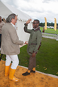 DAVE BENNET; TINY TEMPAH, The Veuve Clicquot Gold Cup Final.<br /> Cowdray Park Polo Club, Midhurst, , West Sussex. 15 July 2012.