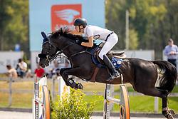 Morsink Gerben, NED, Navarone Z<br /> Nederlands Kampioenschap Springen<br /> De Peelbergen - Kronenberg 2020<br /> © Hippo Foto - Dirk Caremans<br />  09/08/2020