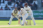 Liam Livingstone of Lancashire batting during the Specsavers County Champ Div 1 match between Somerset County Cricket Club and Lancashire County Cricket Club at the Cooper Associates County Ground, Taunton, United Kingdom on 5 September 2018.