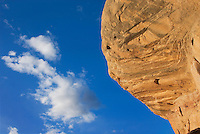 Sandstone and sky, Natural Bridges National Monument Utah