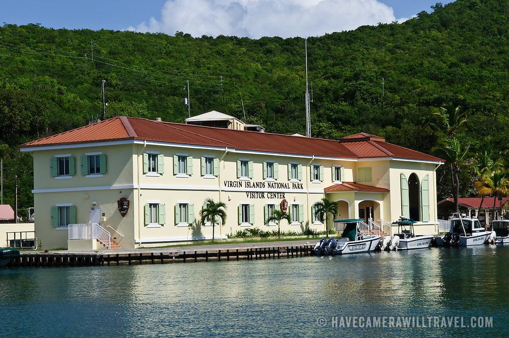 Virgin Islands National Park Visitor Center building