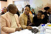 1 July 2009. Andile Lungisa (ANCYL Deputy President on the right); Pule Mabe (ANCYL Treasurer-General in the middle) and Julius Malema, President of the ANC Youth League, officially opened the League's political school in NW Johannesburg. He said the school will instil discipline among ANC Youth League cadres -- and put a stop to the lack of discipline that characterised the league's national conference last year.