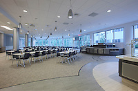 Germantown MD Qiagen Cafeteria interior image by Jefrey Sauers of Commercial Photographics