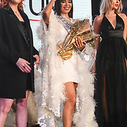 Roksana Slyahtitch and Julia Sinitsina attend Grand Final MISS USSR UK 2019 at Hilton hotel London on 27 April 2019, London, UK.
