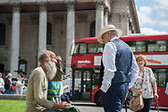 London, 14/08/2017: Trafalgar Square.<br /> &copy; Andrea Sabbadini